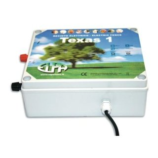 control unit for electric fences