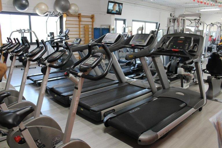 Sala per esercizi cardio