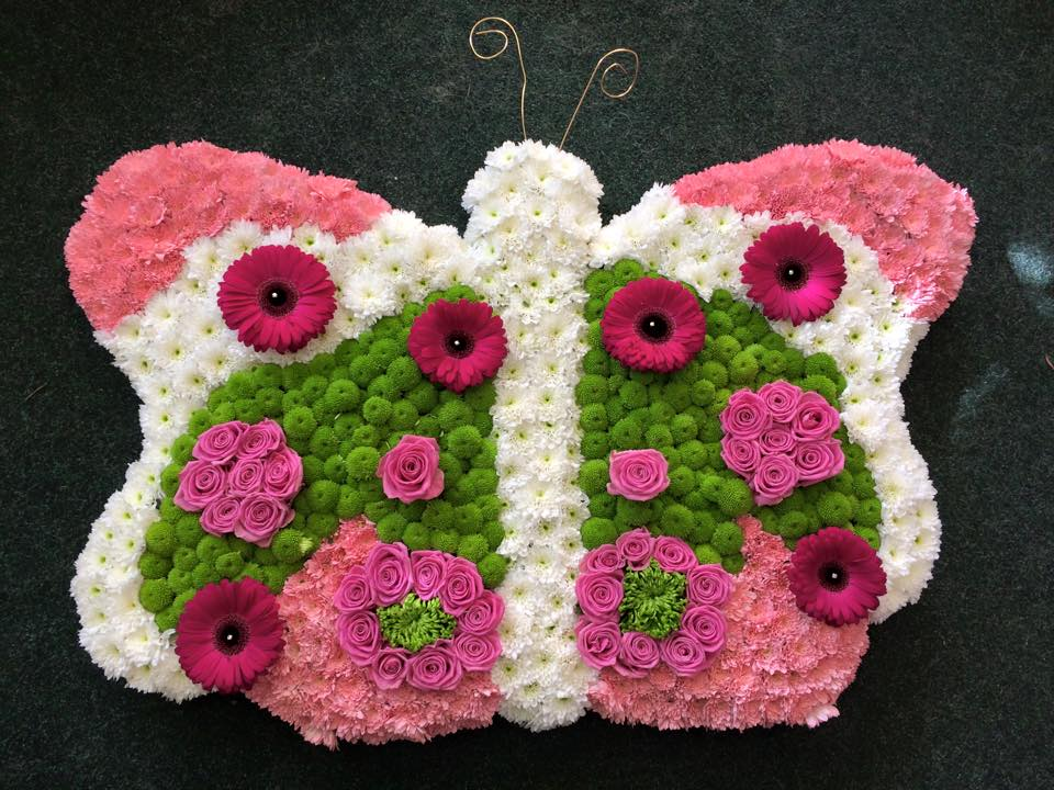 butterfly-themed flowers