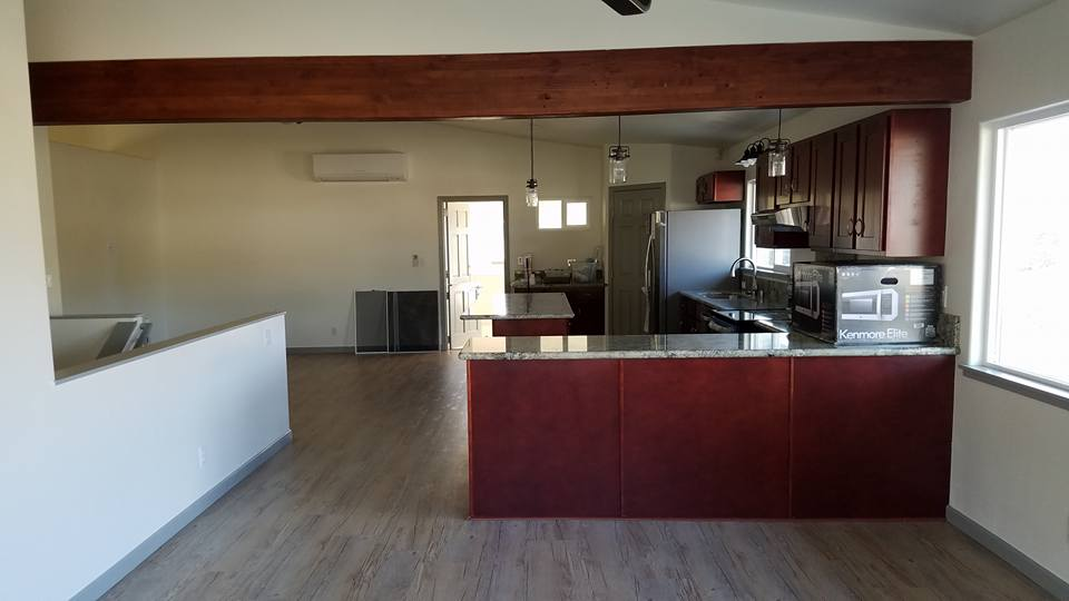 Kitchen remodel  by professional contractor in Aiea, Hawaii.