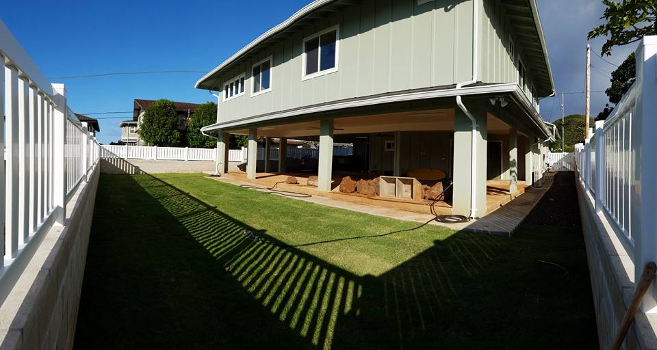 Beautifully constructed home by professional contractor in Aiea, Hawaii.