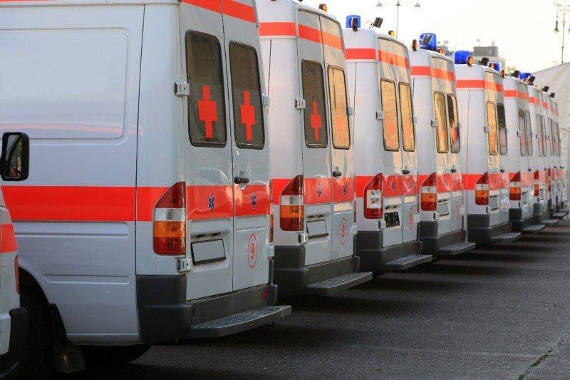 serie di ambulanze