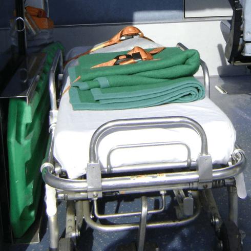 barella dell'ambulanza