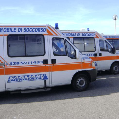 ambulanza per il pronto soccorso