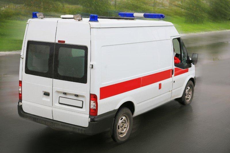 ambulanza in viaggio