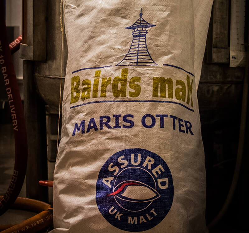 a sack of beer malt
