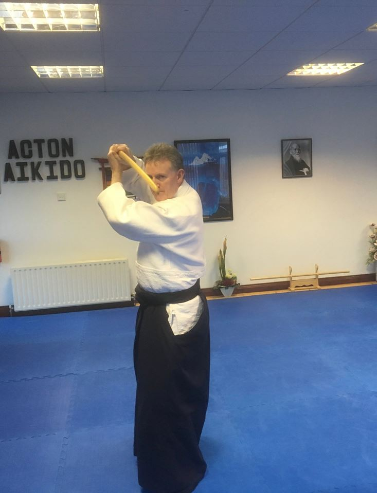 Lessons in Japanese style sword fitness. Martin Acton's Aikido Institute