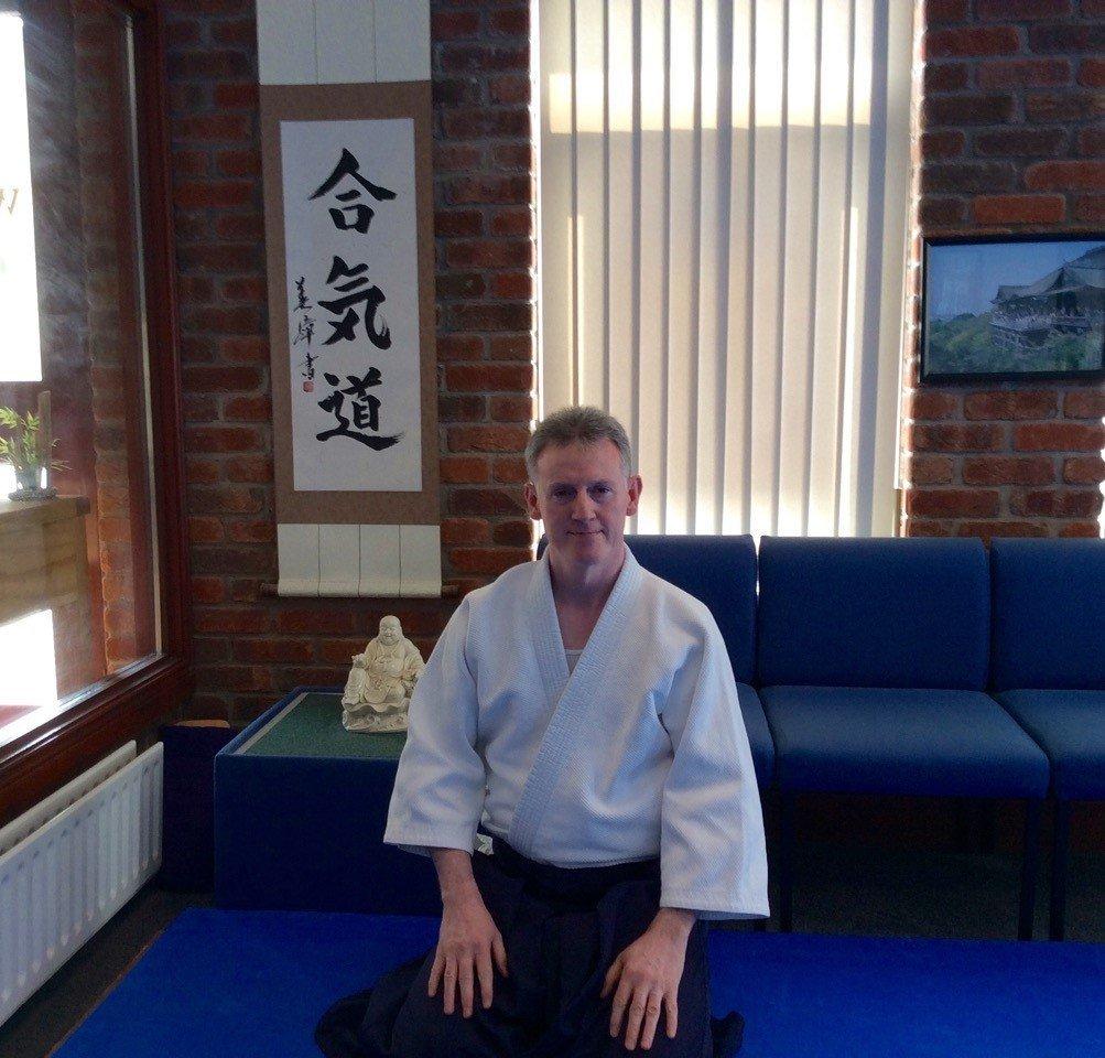 Martin Acton Sensei. Martin Acton's Aikido Institute