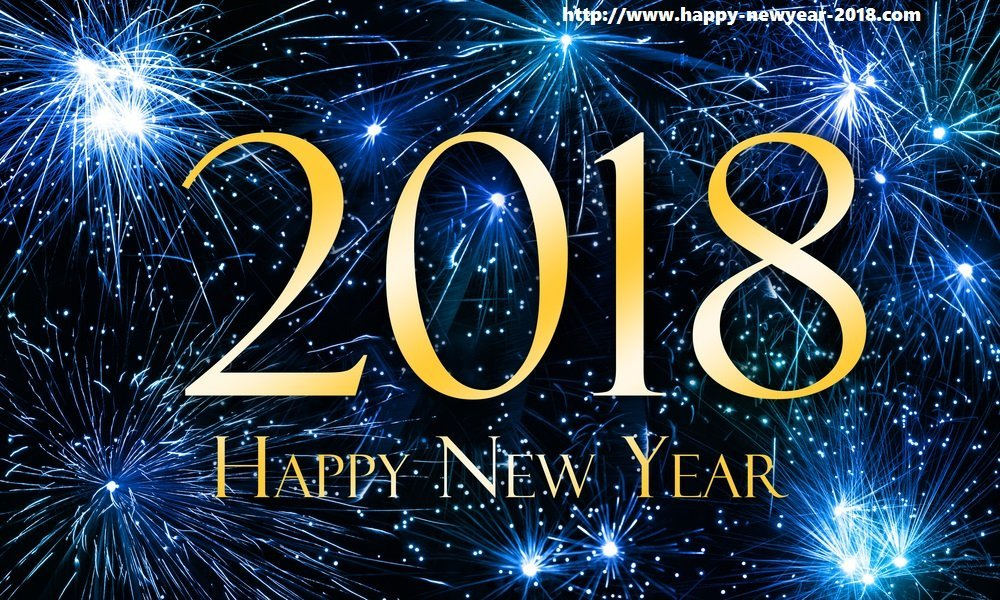 A post wishing everyone best wishes for 2018.