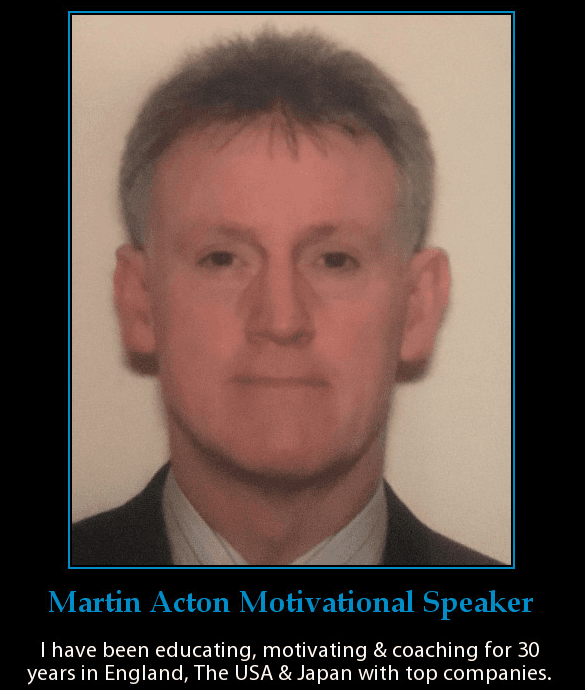 Business Aikido coaching. This is a profile photo of Martin Acton. Martin Acton's Aikido Institute