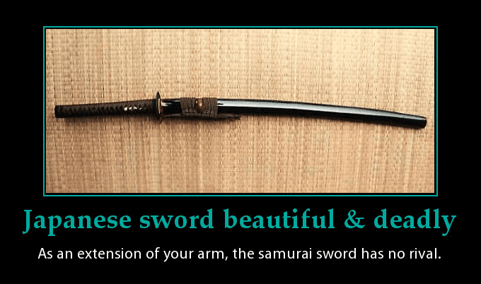 Samurai sword quote