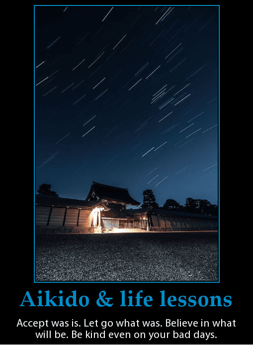 Motivational poster to inspire people to live better lives.