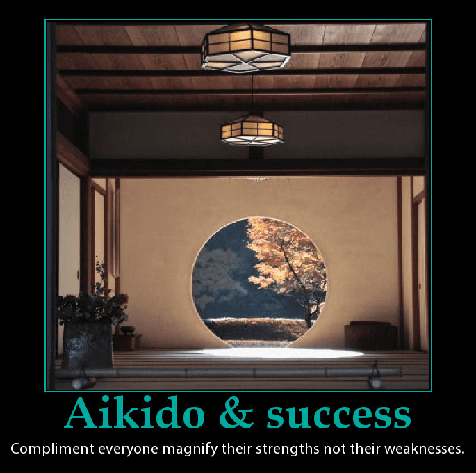 Aikido words on success. www.martinactonaikido.com