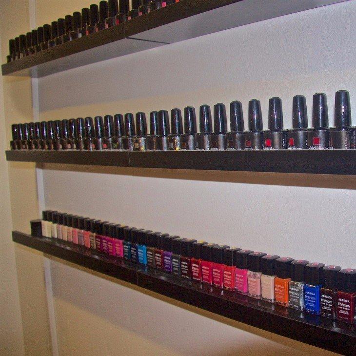 wide range of nail polish