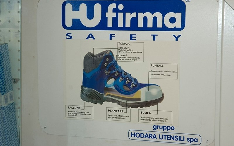 pubblicita HU FIRM SAFETY