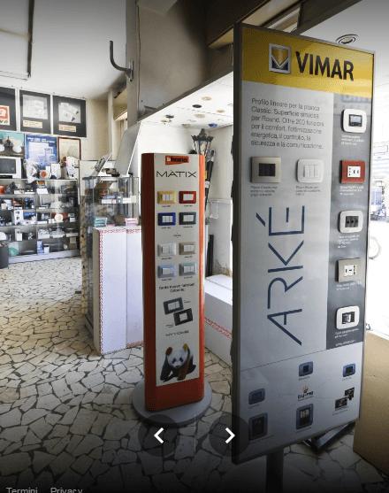 interruttori e prese elettriche a marchio VIMAR MATRIX