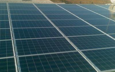 Dettaglio pannello solare Elettrica Pavese