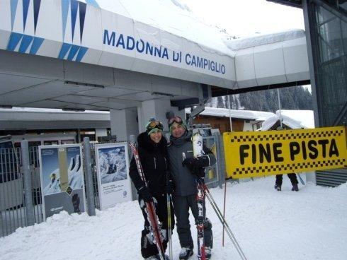Renzo e Paola a Campiglio