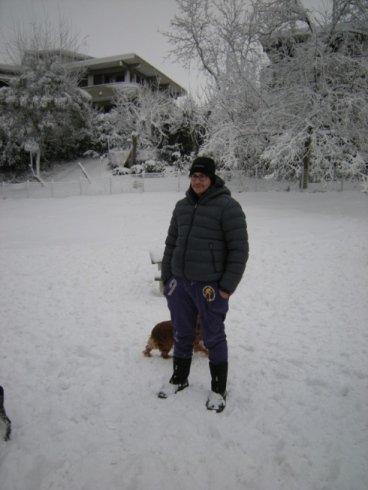 Senigallia con la neve