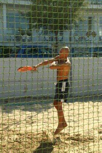 tennis sulla spiaggia