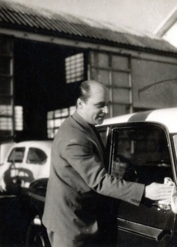 babbo Mario 1958