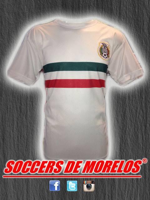 Uniforme Mexico Blanco 2018