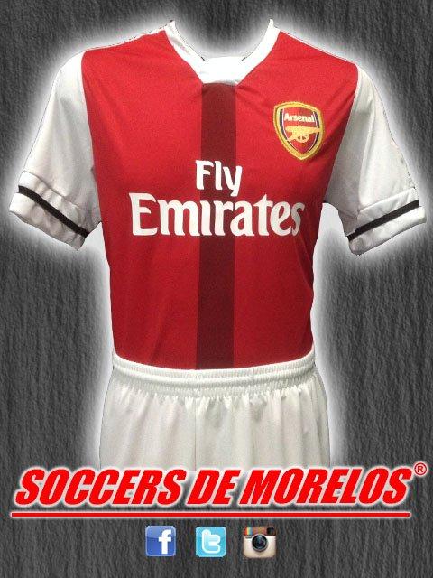 Uniforme Arsenal Local 2017-2018