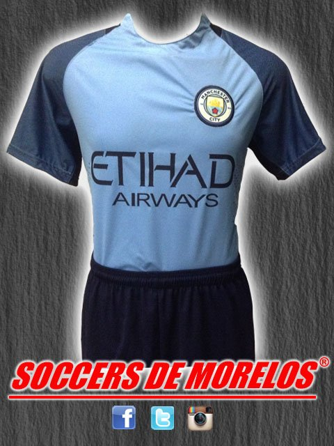 Uniforme Manchester City Local 2017-2018