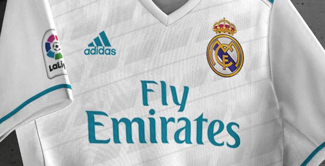 Nuevo Uniforme Real Madrid 2017 2018 e6ad291071c40