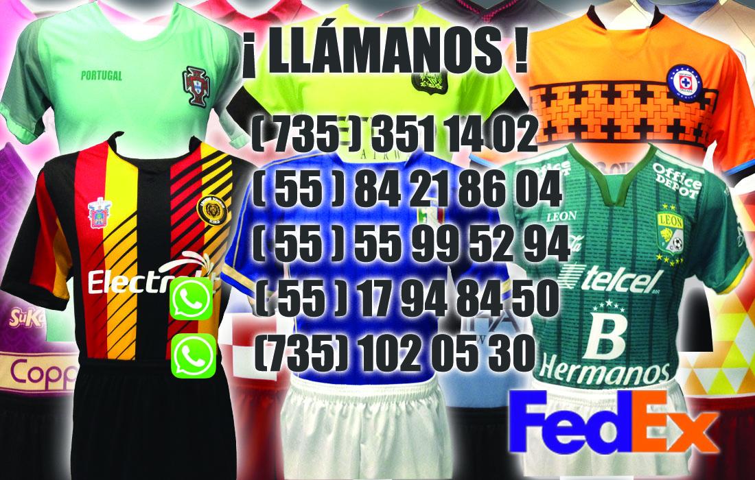 Uniformes de Futbol Soccer