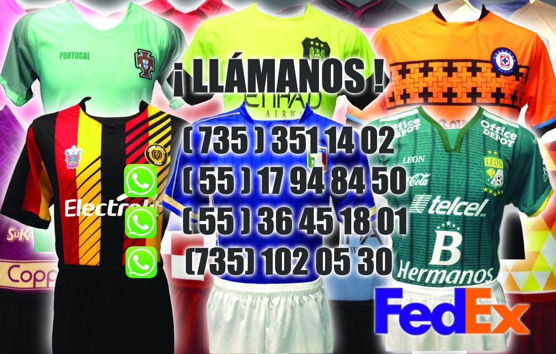 066b253617f9b Uniformes de Fútbol y Playeras de Soccer  Replicas