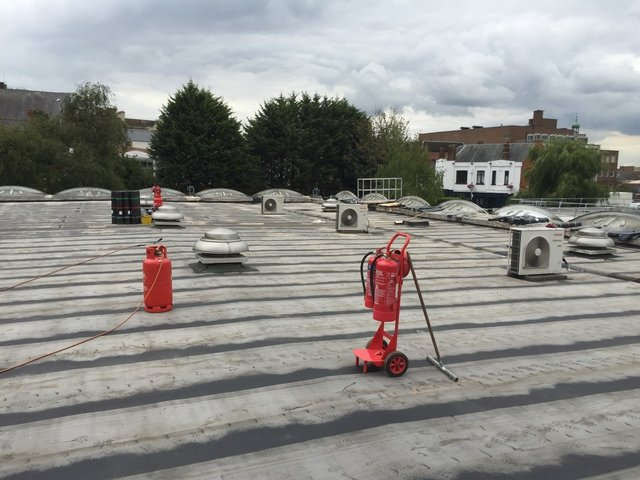 THREE PLYFLAT ROOFING