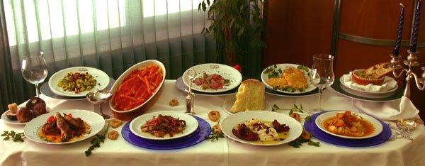 buffet con prodotti biologici a rionero in volture