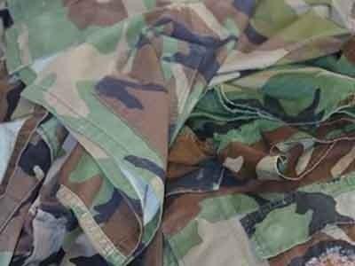 abbigliamento militare vintage