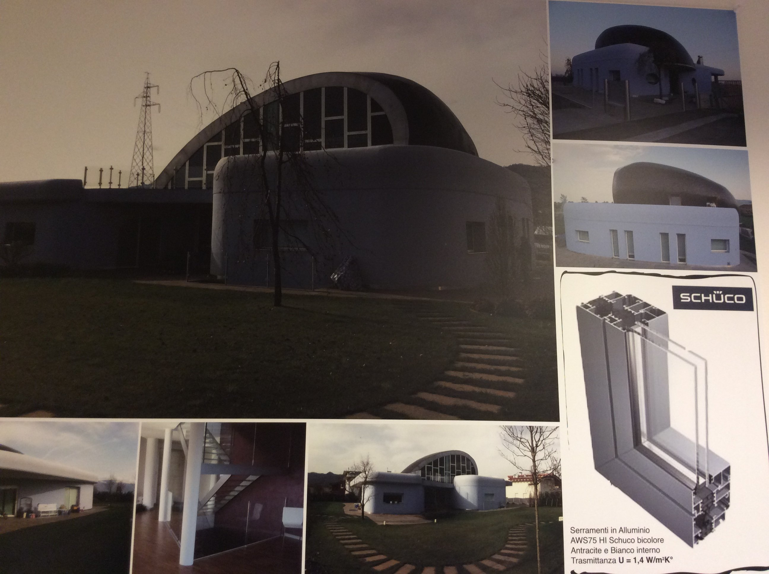 Brochure di una villetta moderna