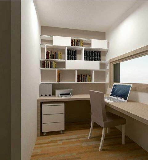 Camera da studente minimal