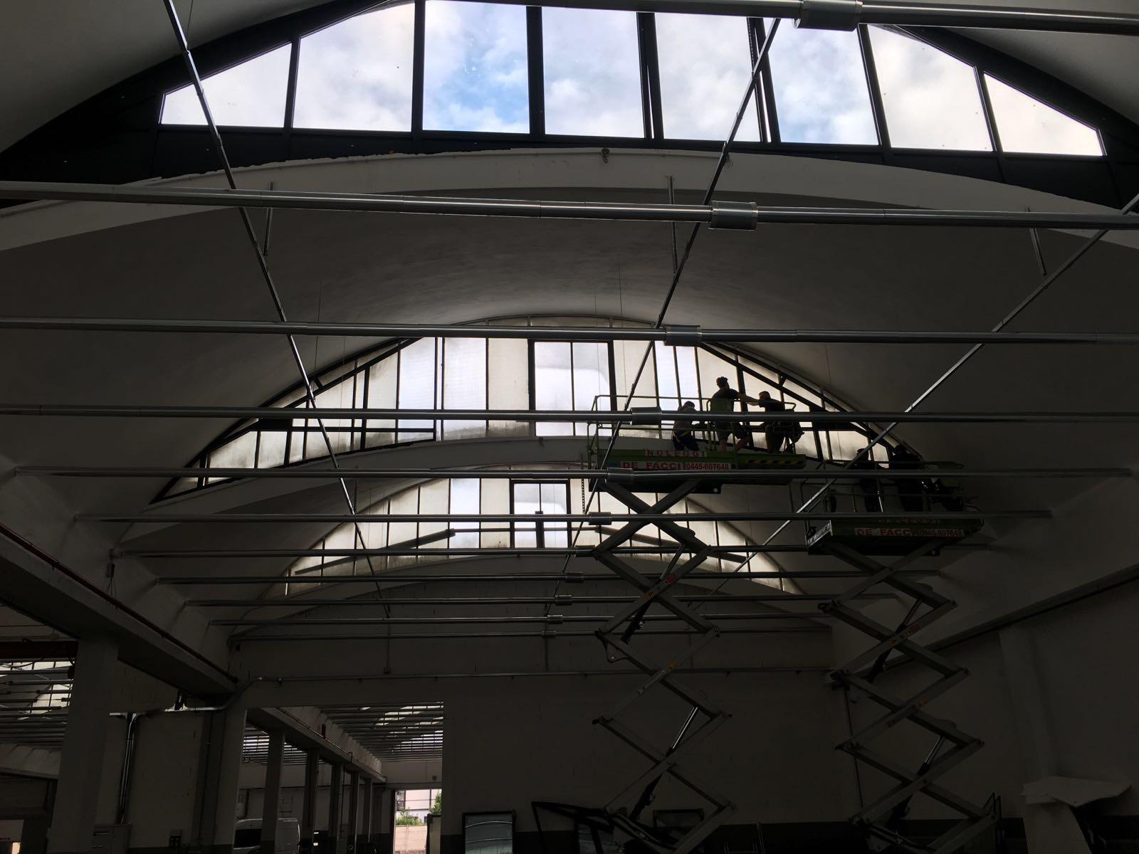 lavori tetto magazzino