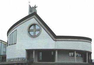 edificio religioso, rifacimento facciate, ristrutturazione d'interni
