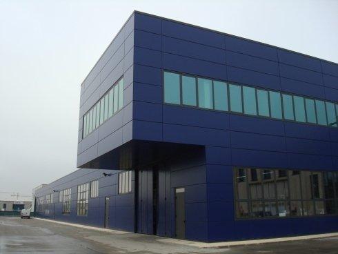 Realizzazione nuovo capannone industriale a Modena