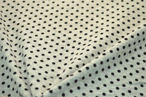 Maglina in cotone con applicazione