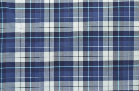 Tessuto per camicia quadretto madras