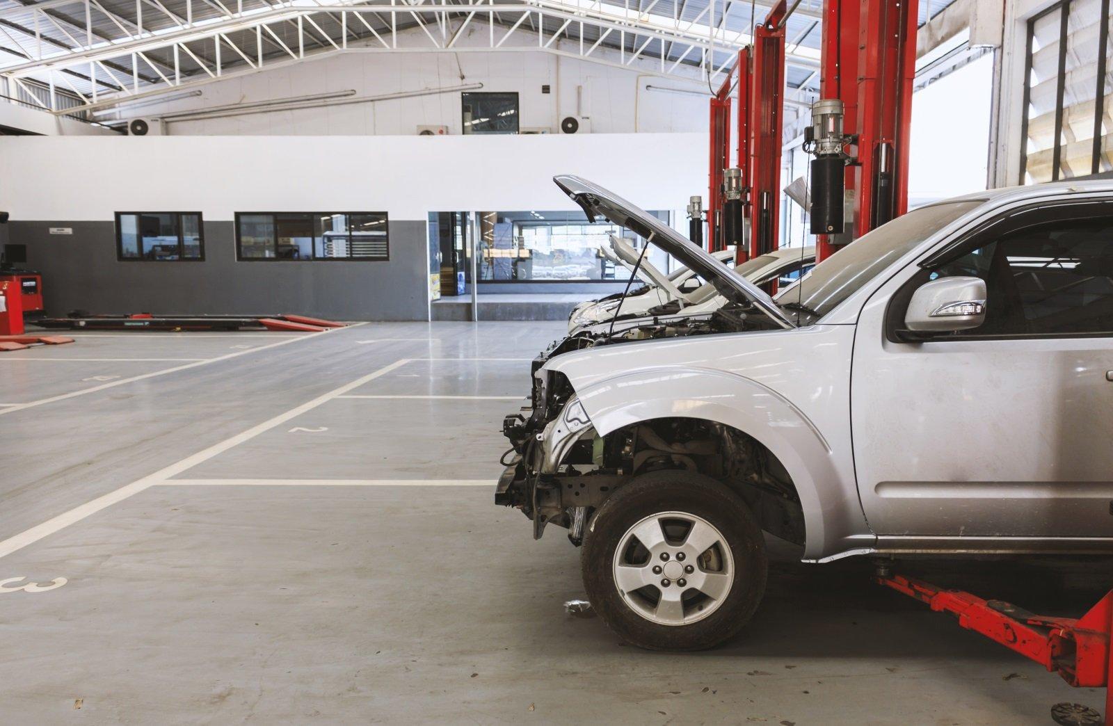 delle vetture danneggiate
