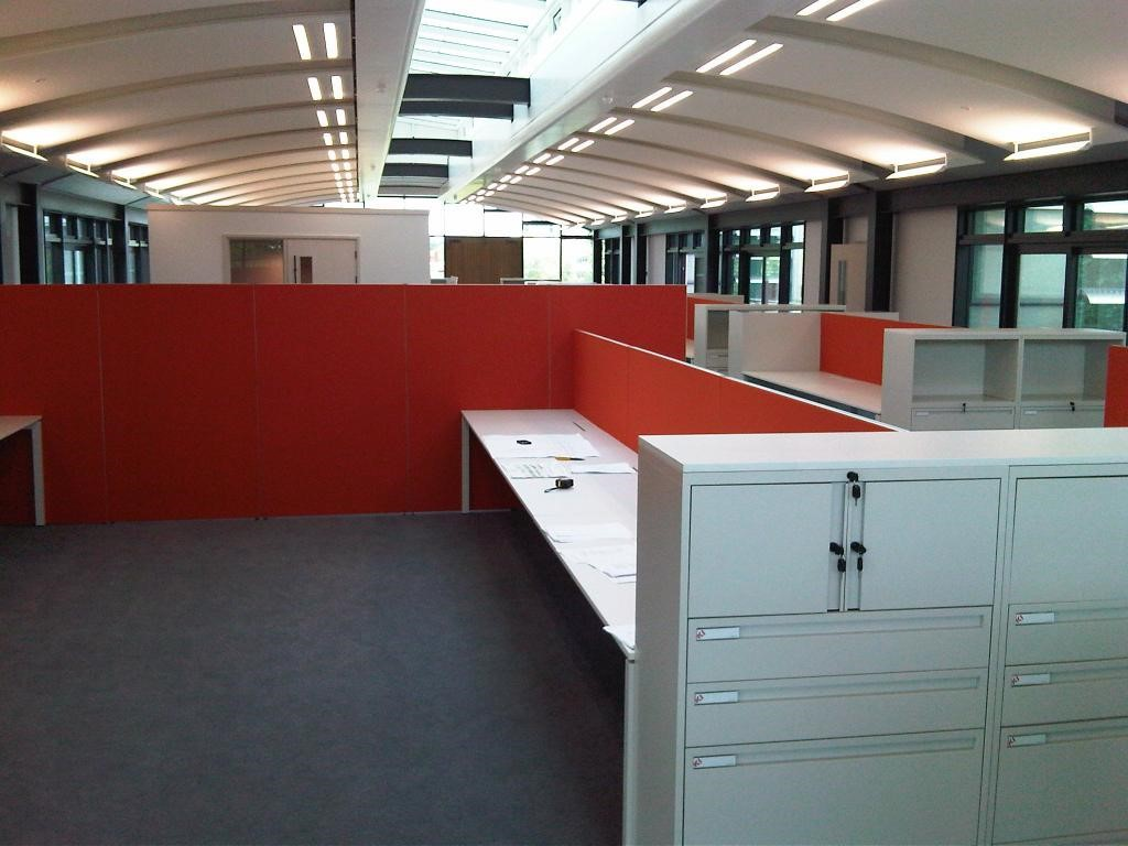 Furniture installation completed in one day