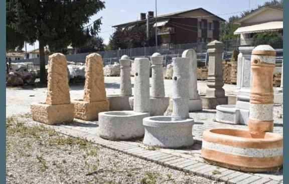 fontane in terracotta