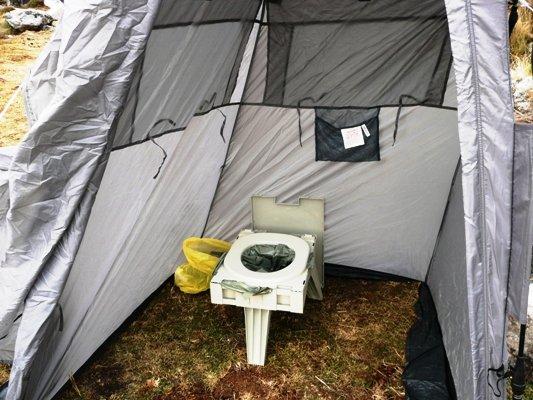 Toilet Tent & Seat