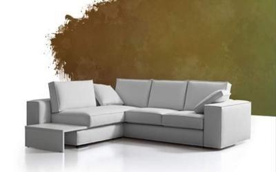 divano angolare bianco Posada