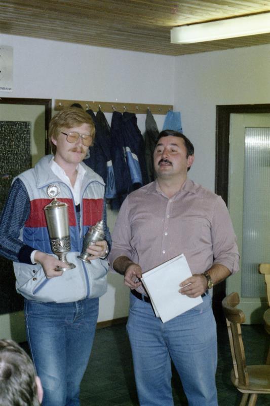 Einzelmeister im Zielschießen 1984