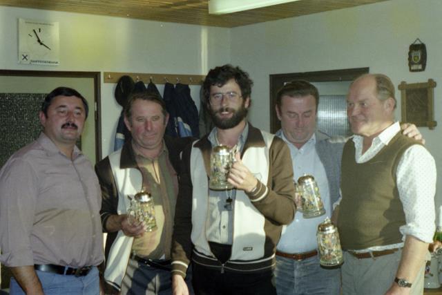 Vereinsmeister Mannschaft 1984