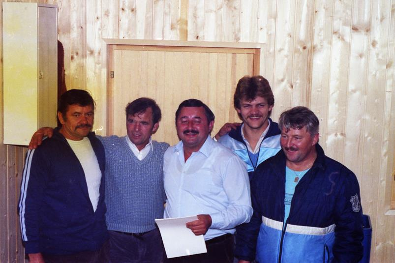 Vereinmeister Mannschaft 1985
