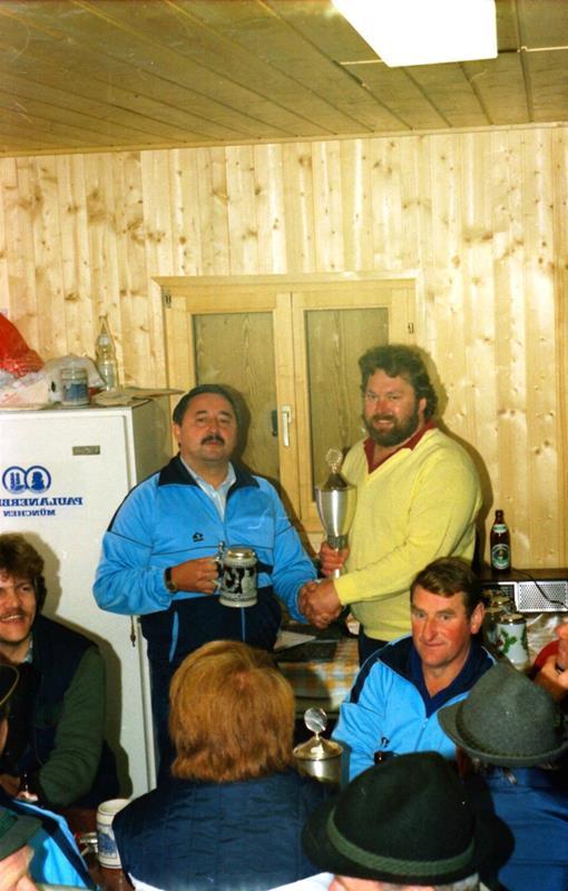 Einzelmeister im Zielschießen 1986